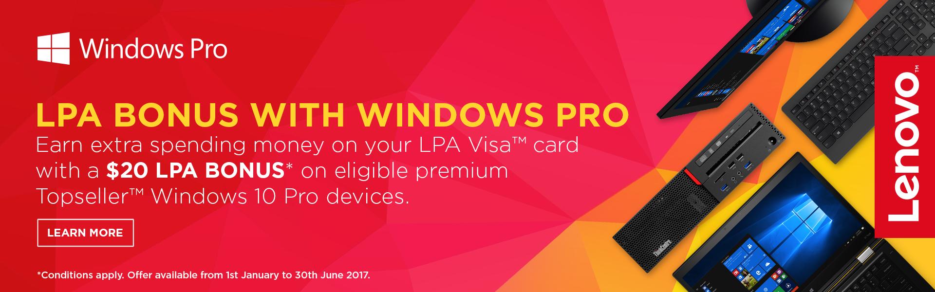 Windows Pro LPA Bonus