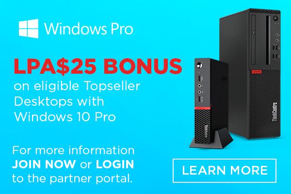 Bonus LPA$25 Windows 10 Pro